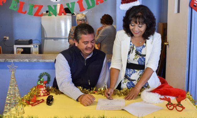DISTRITO NORTE DE CODELCO IMPULSA INSTALACIÓN DE CALEFACTORES SOLARES EN VILLA AYQUINA SECTOR DESCO