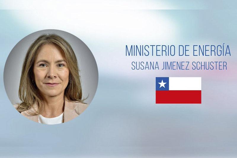 Entrevista a la Ministra de Energía Susana Jiménez Schuster.
