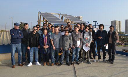 ESTUDIANTES UNIVERSITARIOS VISITAN PLANTA DE ENERGÍA SOLAR DE FULCROABC