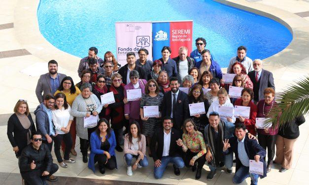 30 ORGANIZACIONES SOCIALES DE TODA LA REGIÓN RECIBIERON FINANCIAMIENTO DE LA SEGEGOB PARA CUMPLIR SUS PROYECTOS