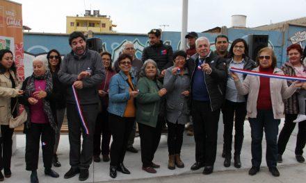 VECINOS DE TOCOPILLA RECUPERAN ESPACIO PÚBLICO DE MANERA SUSTENTABLE