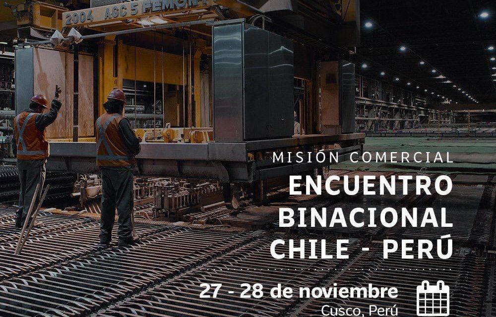 MISIÓN COMERCIAL ENCUENTRO BINACIONAL CHILE-PERÚ