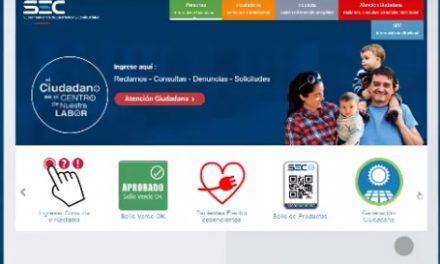 SEC LANZA NUEVO SITIO WEB CON HERRAMIENTAS ÚTILES Y PRÁCTICAS PARA LOS CIUDADANOS