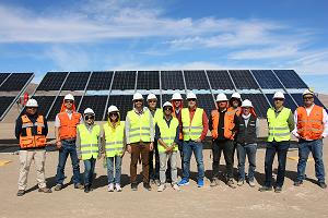 MÁS DE 30 EXPERTOS INTERNACIONALES EN ENERGÍA SOLAR SE REUNIERON EN CHILE