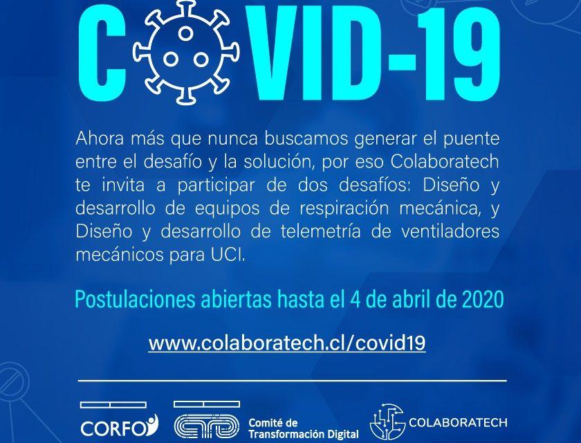 BUSCAN IMPULSAR SOLUCIONES A LA EMERGENCIA POR CORONAVIRUS A TRAVÉS DE DESAFÍOS COLABORATIVOS EN SALUD DIGITAL