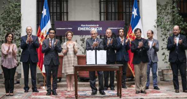 PRESIDENTE PRESENTA PLAN ECONÓMICO DE EMERGENCIA POR US$11.750 MILLONES PARA PROTEGER EL EMPLEO Y A LAS PYMES