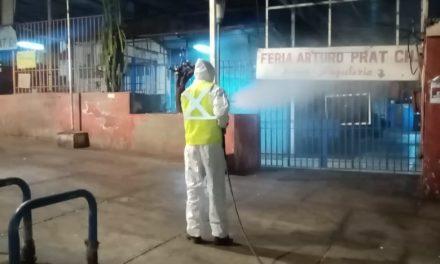 MUNICIPIO HA REALIZADO 80 SANITIZACIONES NOCTURNAS