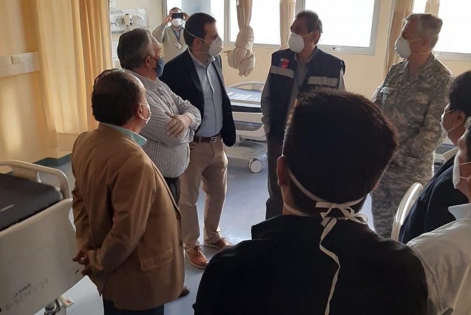 INTENDENTE DESTACÓ AUMENTO DE CAMAS E IMPLEMENTACIÓN DE POLICLÍNICO DE ESPECIALIDADES EN ANTIGUO HOSPITAL REGIONAL