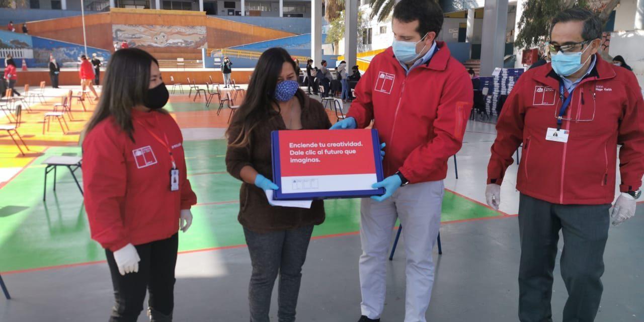 MINEDUC ENTREGA MÁS DE 2 MIL 800 COMPUTADORES A ALUMNOS DE ANTOFAGASTA