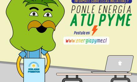¡PONLE ENERGÍA A TU PYME!  PROGRAMA DEL MINISTERIO DE ENERGÍA QUE BUSCA APOYAR A LAS MIPYMES