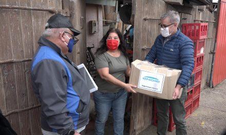 ENGIE ENTREGÓ 500 CAJAS FAMILIARES EN MEJILLONES