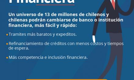 GOBIERNO ANUNCIÓ PUESTA MARCHA DE LA PORTABILIDAD FINANCIERA