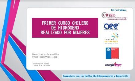 HITO: PRIMER CURSO CHILENO DE HIDRÓGENO REALIZADO POR MUJERES
