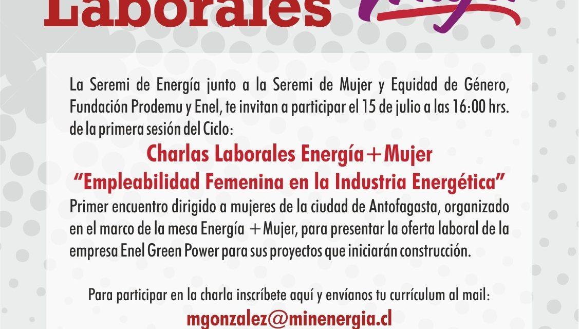 Energía + Mujer gestiona plazas de trabajo a través de Talleres Laborales