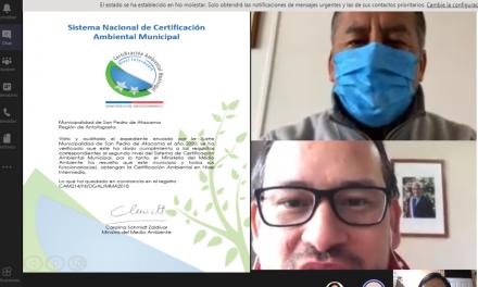 Otorgan certificación ambiental a municipio de San Pedro de Atacama