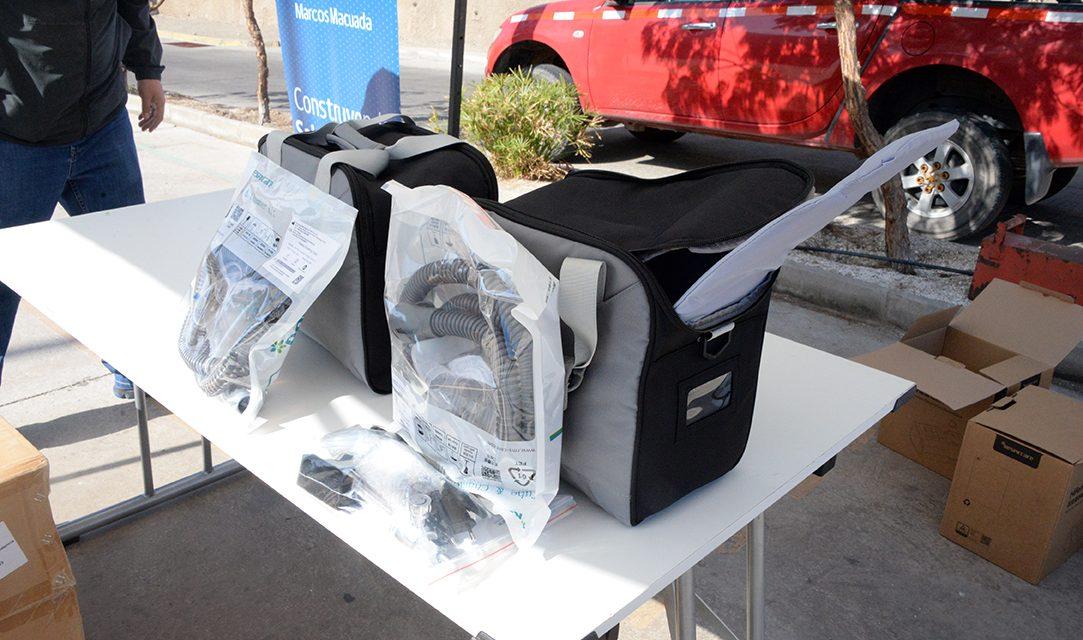 Codelco entregó tres ventiladores de oxigenoterapia de alto flujo al Hospital Marcos Macuada de Tocopilla