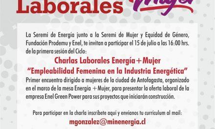 Charlas Laborales Energía+Mujer