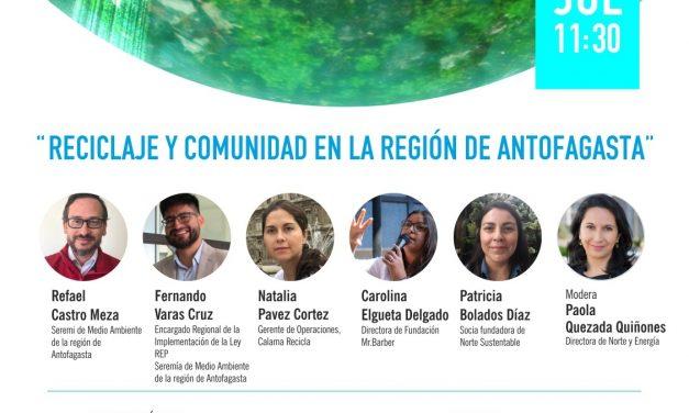 WEBINAR RECICLAJE Y COMUNIDAD, 24 DE JULIO
