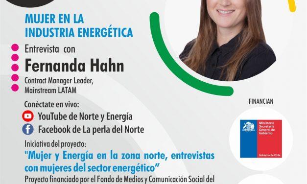 ENTREVISTA MUJER Y ENERGÍA EN LA ZONA NORTE CAPÍTULO 4: 03 DE AGOSTO