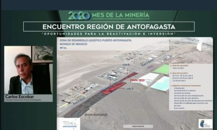 Puerto Antofagasta expone en el Encuentro Región de Antofagasta: Oportunidades para la reactivación e inversión en el marco del Mes de la Minería 2020