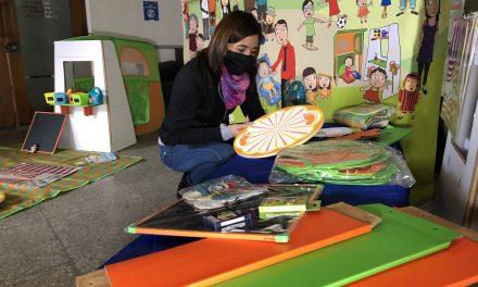 Más de 3.600 niños de la región recibirán Rincones de Juego  durante la pandemia