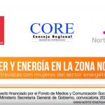 Transmisión en directo Mujer y Energía en la zona norte 31 agosto