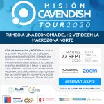 MISIÓN CAVENDISH TOUR 2020 MACRO ZONA NORTE 22 SEPT. 9:00 HRS VÍA ZOOM