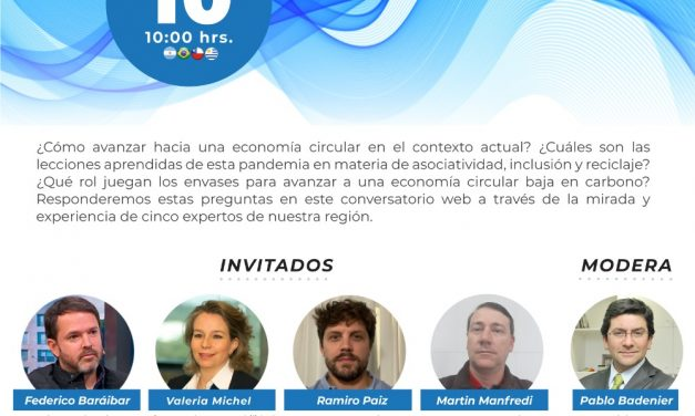 WEBINAR: ENVASES Y ECONOMIA CIRCULAR