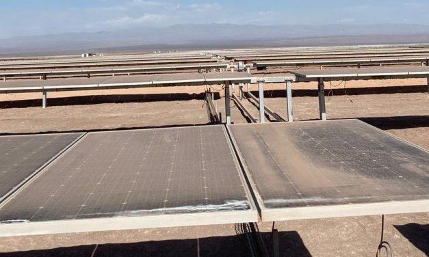 Suncast redujo a la mitad limpiezas en central fotovoltaica de 9 MW