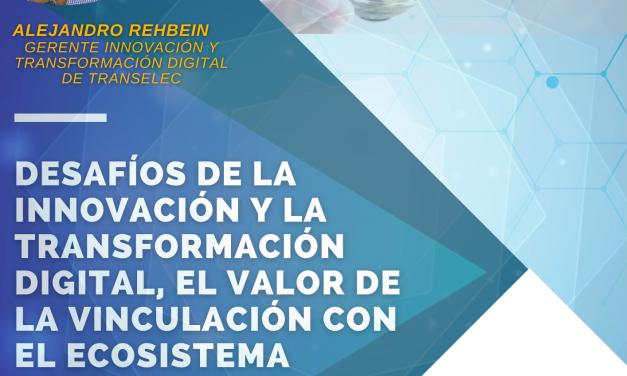 DESAFÍOS DE LA INNOVACIÓN Y LA TRANSFORMACIÓN DIGITAL, 10 SEPT. 10 HRS
