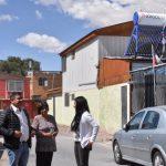 29 familias de Independencia Norte disfrutan sus nuevos calefactores solares