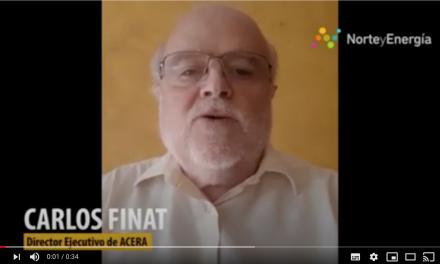 Saludo Carlos Finat, director ejecutivo ACERA