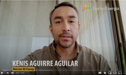 Saludo Kenis Aguirre, director AE Energy