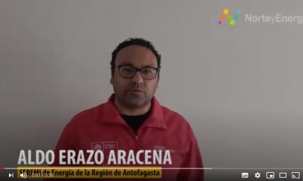 Saludo Aldo Erazo, Seremi de Energía, Región de Antofagasta