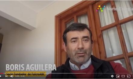 Saludo Boris Aguilera, socio fundador Fulcro ABC