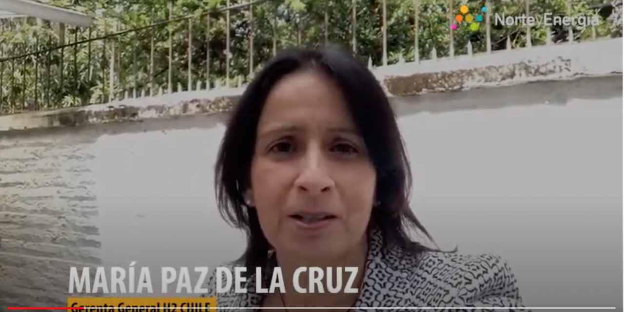 Saludo María Paz de la Cruz, gerenta general H2 Chile