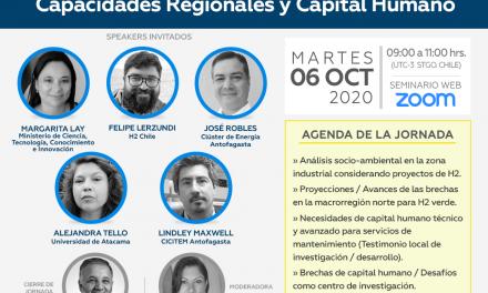 Misión Cavendish ofrecerá mentorías gratuitas sobre hidrógeno verde para el norte de Chile