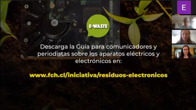MMA, ONUDI Y FUNDACIÓN CHILE BUSCAN PROMOVER UN MAYOR ENTENDIMIENTO DE LOS RESIDUOS DE APARATOS ELÉCTRICOS Y ELECTRÓNICOS EN LA POBLACIÓN CHILENA