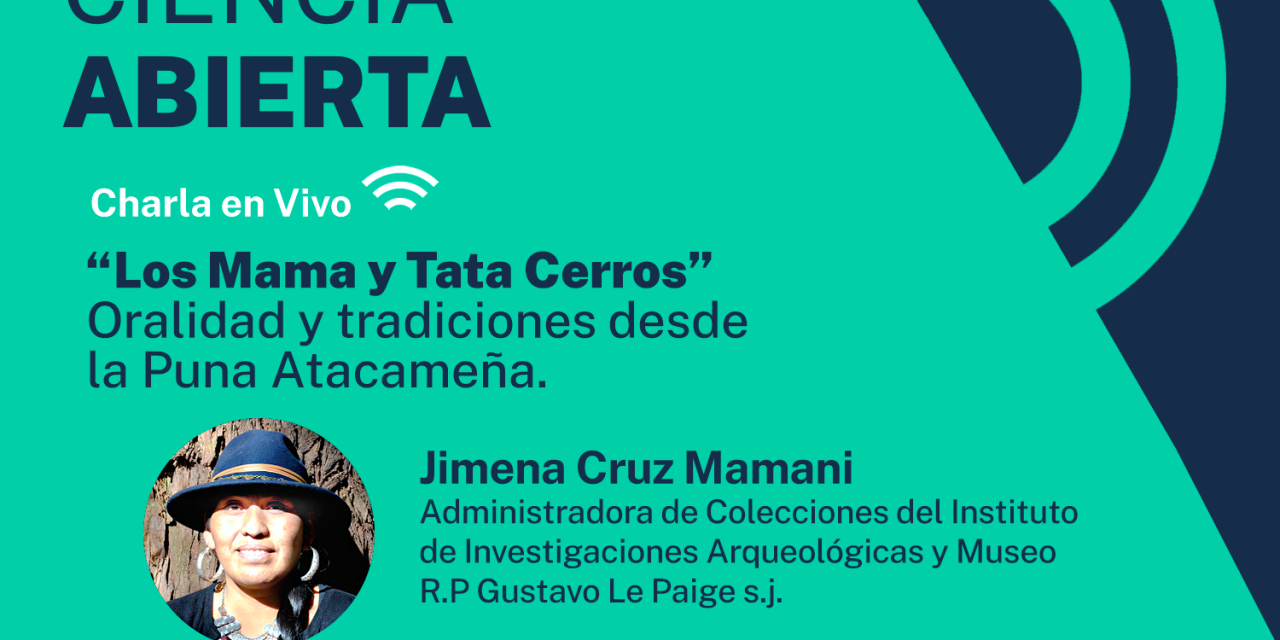 Charla en vivo abordará la relevancia de las montañas y cerros en la cultura atacameña