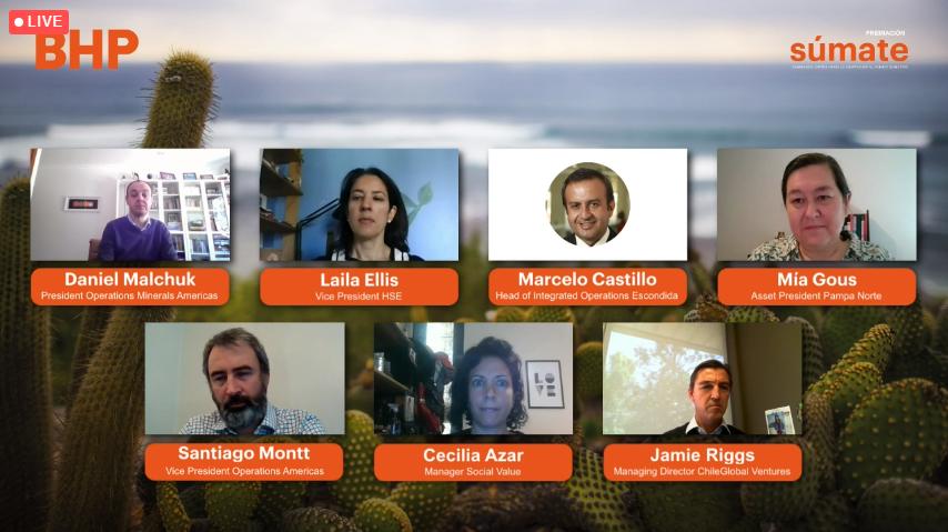 CONVOCATORIA SÚMATE: BHP presenta proyectos ganadores para abordar desafíos de adaptación al cambio climático