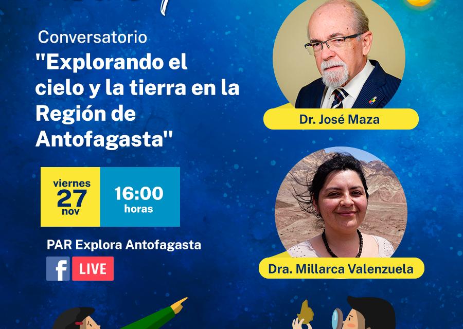Destacados investigadores en astronomía y geología realizarán una imperdible charla en conjunto