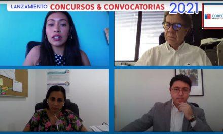 Comité Corfo Antofagasta lanza calendario 2021 de concursos y convocatorias en innovación, emprendimiento y fomento empresarial