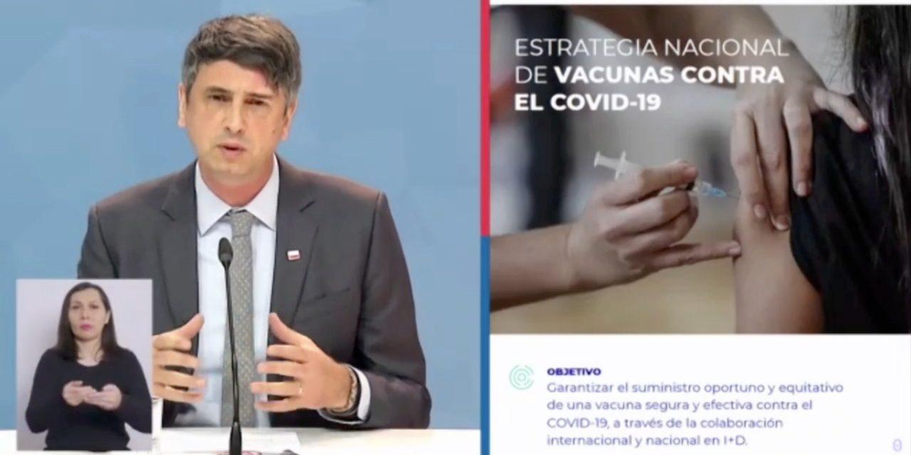 Ministro de Ciencia presenta cuenta pública con énfasis en iniciativas COVID-19 y desafíos de futuro