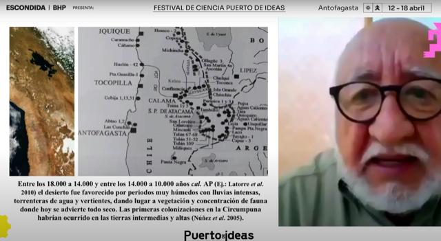 Lautaro Núñez y los primeros colonizadores del desierto de Atacama