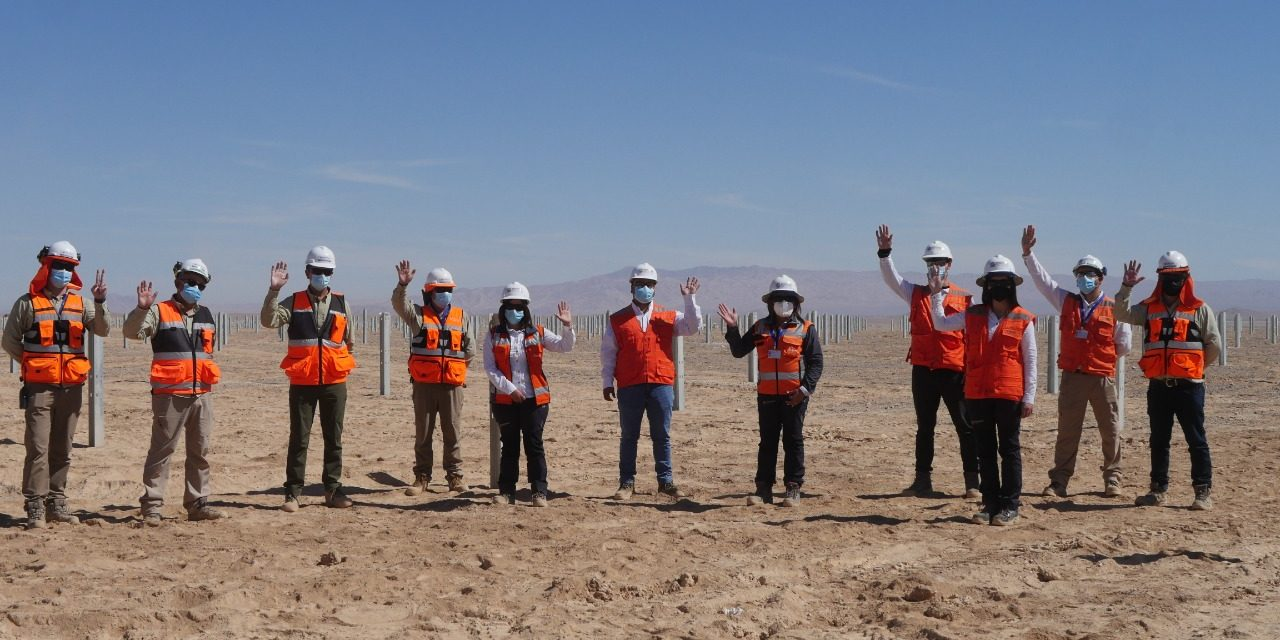 Seremi de Energía de Antofagasta conoce en terreno el estado de avance de los proyectos renovables desarrollados por Mainstream Renewable Power en la región