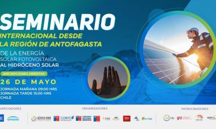 Seminario Internacional desde la región de Antofagasta, 26 de mayo, 09:00-15:00 horas