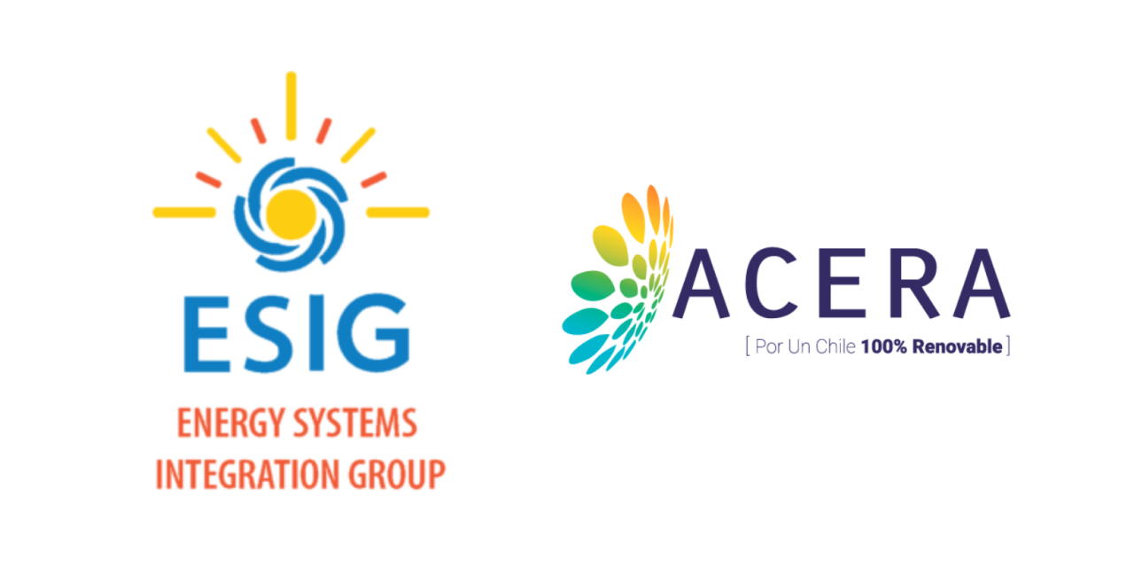 ACERA se convierte en el primer miembro chileno del Energy Systems Integration Group (ESIG)