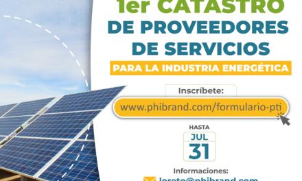 Invitan a participar en inédito catastro para proveedores de la industria energética en Atacama