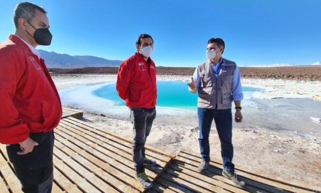 Verifican implementación de protocolos sanitarios en sitios turísticos de la Región de Antofagasta