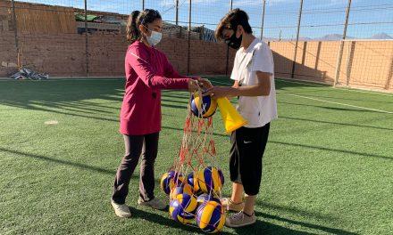 Codelco y vecinos de San Pedro de Atacama recuperan espacios para potenciar la vida saludable